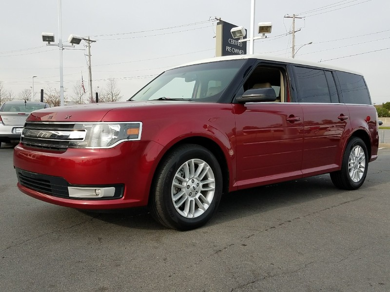 pre-owned 2014 ford flex sel sport utility in benton #ebd14197